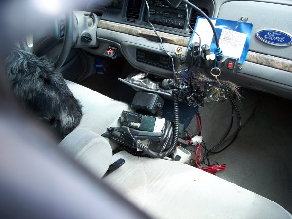 Interior View of Whackermobile